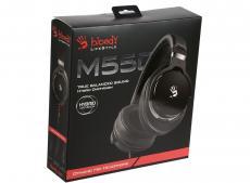 Гарнитура  A4Tech Bloody M550 черный/серебристый 1.2м