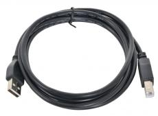 Кабель USB 2.0 AM/BM 1.8м Gembird Pro CCP-USB2-AMBM-6 черный, пакет