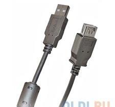 Кабель удлинитель USB 2.0 АM/AF 1.8 м Belsis, с одним ф/фильтром, BW1401