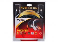Кабель VCOM HDMI 19M/M ver:1.4+3D, 15m, позолоченные контакты, 2 фильтра (VHD6020D-15MB) Blister