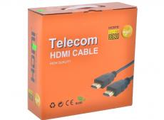 Кабель HDMI 19M/19M 15m ver:1.4 Telecom Carton Packing  2 фильтра