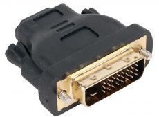 Переходник Aopen HDMI 19F to DVI-D 25M позолоченные контакты [ACA312]