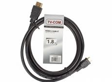 Кабель TV-COM HDMI to MiniHDMI ver1.4V+3D, 1.8m  (CG580M-1.8M)