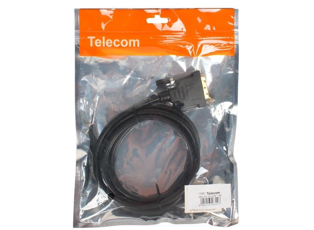 Кабель-переходник MINI-DisplayPort---DVI_M/M 1,8м  Telecom (TA665-1.8M)