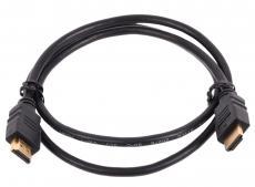 Кабель цифровой HDMI19M to HDMI19M, V1.4+3D, 1 m, TV-COM (CG501N-1M)