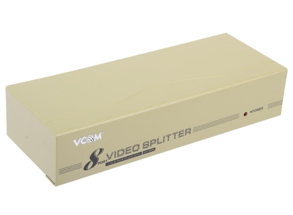 Разветвитель VGA 1 to 8 VS-98A Vpro mod:DD128 350MHz (VDS8017)