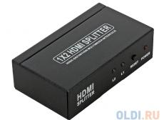 разветвитель hdmi splitter 4k orient hsp0102h