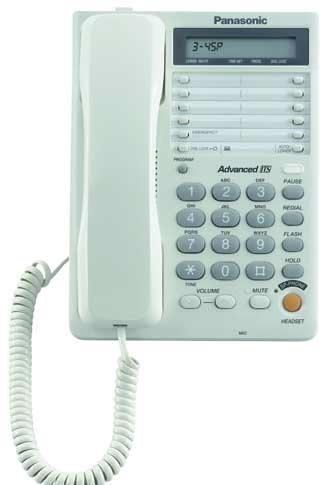 Телефон Panasonic KX-TS2365RUB ЖКИ, спикер, автодозвон, память 28