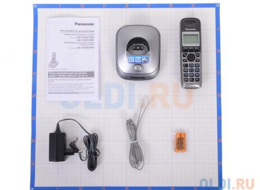 телефон dect panasonic kx-tg2511rum