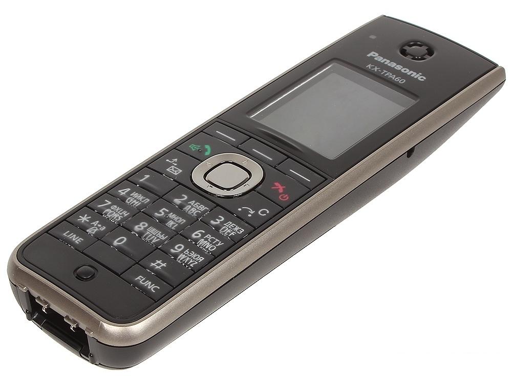 Телефон IP DECT Panasonic KX-TPA60RUB SIP (Трубка) Цифр. IP-телефон