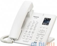 Телефон IP DECT Panasonic KX-TPA65RUW SIP Цифр. IP-телефон (Настольный), VoIP, Ethernet, UpTo 7 HSet, Память 500, Звук HD