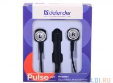 Гарнитура Defender Pulse-427 4-пин 3,5 мм jack, кабель-1,2м