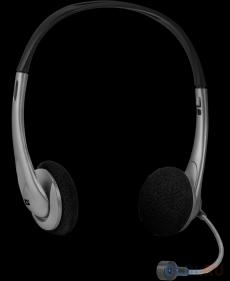 гарнитура defender aura 114 черный/серый (кабель 1.8м)