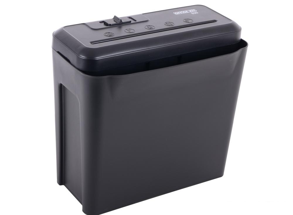 Шредер Office Kit S20 7,0 (DIN P-1) полоса 7мм, 6 листов, 10 литров