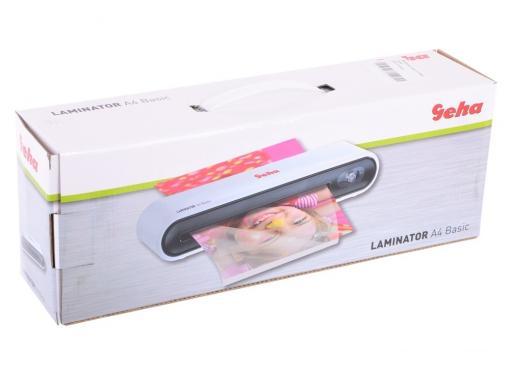 Ламинатор Geha A4 Basic A4 2х100 (пленка 80-100 мкм) 25см/мин, 2 вала, холодн.лам., лам.фото, ABS система разжатия валов