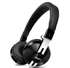 Гарнитура SVEN AP-B350MV, черный (Bluetooth)