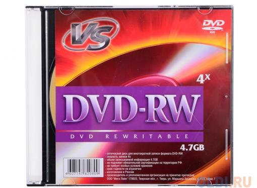 DVD-RW VS 4.7Gb 4х Slim