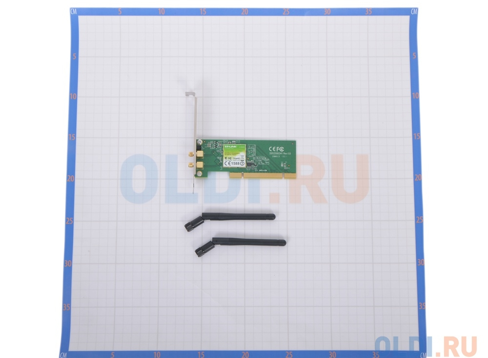 Беспроводной Wi-Fi адаптер TP-Link TL-WN851ND 802.11bgn, 300Mbps, 2.4GHz, PCI-E