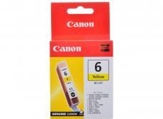 Чернильница Canon BCI-6Y для BJС-8200/S900/9000/800//i560/i865/i905D/950/965/9100. Жёлтый. 270 страниц.