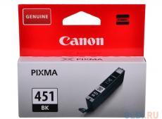Картридж Canon CLI-451BK для MG6340, MG5440, IP7240, 1100 страниц.