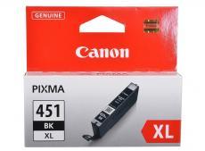 Картридж Canon CLI-451BK XL для MG6340, MG5440, IP7240 . Чёрный. 4425 страниц.