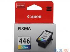 Картридж Canon CL-446 для PIXMA MG2440/2540. Цветной. 180 страниц.