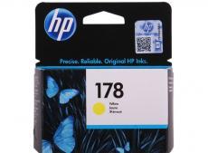 Картридж HP CB320HE (№ 178) желтый, 4 мл, PS C5383/C6383/D5463