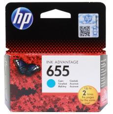 Картридж HP CZ110AE (№ 655) голубой, DJ IA 3525/4615/4625/5525, 600стр