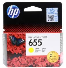 Картридж HP CZ112AE (№ 655) желтый, DJ IA 3525/4615/4625/5525, 600стр