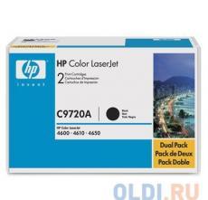 Картридж HP C9720A (для Color LJ4600) черный
