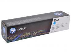 Картридж HP CE311A ((№126A) голубой LaserJet CP1025