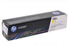 Картридж HP CE312A (№126A) желтый  LaserJet CP1025