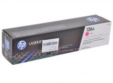 Картридж HP CE313A ((№126A) пурпурный LaserJet CP1025
