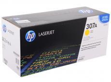 картридж hp ce742a (№307a) для принтеров hp color laserjet cp5225. жёлтым. 7300 страниц.