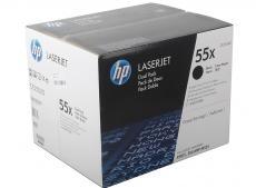 Картридж HP CE255XD для HP LaserJet Enterprise P3015/P3015d/P3015dn/P3015x, черный (12 500 стр) двойная упаковка