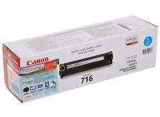 картридж canon 716 c для lbp-5050 / 5050n, mf8030cn / 8050cn. голубой. 1500 страниц.