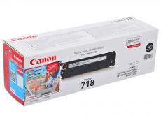 Картридж Canon 718 BK для LBP-7200. Чёрный. 3400 страниц.