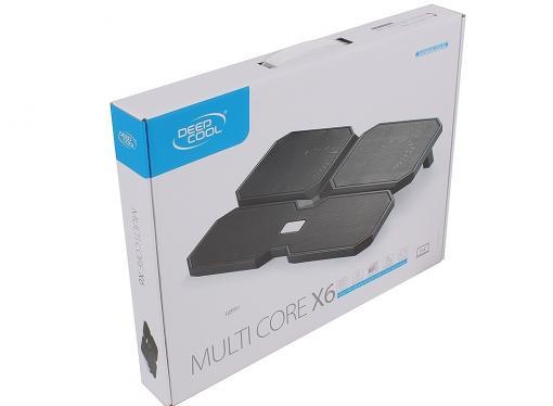 Теплоотводящая подставка под ноутбук DeepCool MULTI CORE X6 (до 15.6