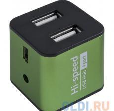 Концентратор USB2.0 HUB Defender QUADRO IRON 4 порта, метал. корпус