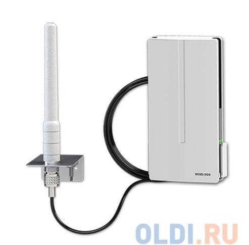 Усилитель GSM сигнала MOBI-900 CITY LOCUS (Подходит для всех сотовых сетей, подключение своими руками за 15 минут, оптимален для квартиры и офиса)