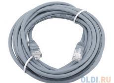 Сетевой кабель 20м UTP 5е, литой patch cord серый Aopen [ANP511_20M]