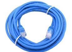 Сетевой кабель 20м UTP 5е, литой patch cord синий Aopen [ANP511_20M]
