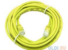 Сетевой кабель 20м UTP 5е, литой patch cord желтый Aopen [ANP511_20M_Y]