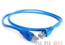 Патч-корд литой Aopen/Qust UTP кат.5е 0,5м синий (ANP511_0.5M_B)