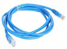 Патч-корд литой Aopen/Qust UTP кат.5е 2м синий (ANP511_2M_B)