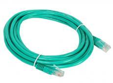Патч-корд литой Aopen/Qust UTP кат.5е 3м зеленый (ANP511_3M_G)