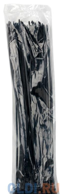 Cтяжка нейлон 5x400мм, черная (100шт./уп.)