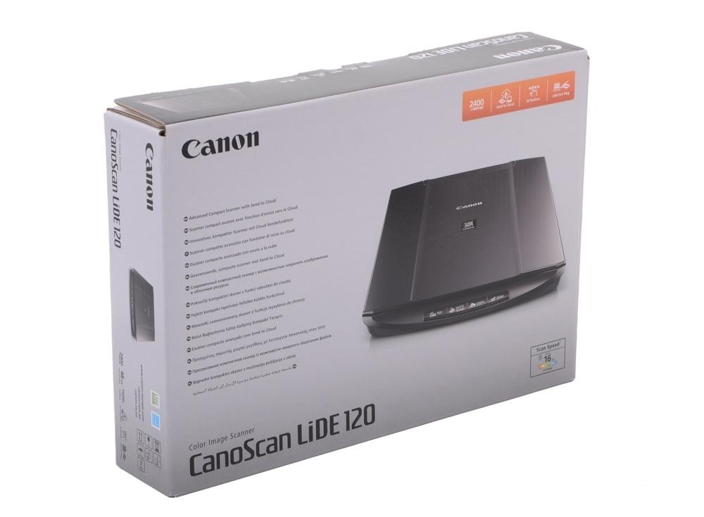 Сканер Canon LIDE 120 (2400x4800dpi, 48bit, USB, A4)