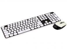 беспроводной комплект из клавиатуры и мыши marvo kc-403w bk