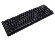 Клавиатура SVEN Standard 301 USB чёрная, 105 клавиш, красная кириллица, классич. раскладка, коробка цвет
